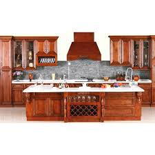 Cherry Wood Kitchen Cabinets Kitchen Inspiring U Shape Kitchen Decoration With Cherry Wood