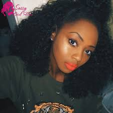 curly black hair sew in 6a afro brazilian kinky curly virgin hair weave queen wet and wavy