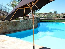 Modern Pool Furniture by Patio 39 Patio Umbrellas Wooden Patio Furniture With Umbrella