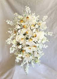 silk wedding flowers elizabeth ii coronation replica bridal bouquet silk