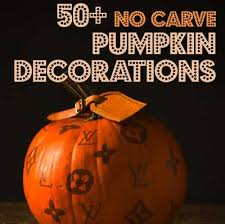 No Carve Pumpkin Decorating Ideas 50 No Carve Pumpkin Decorating Ideas