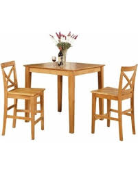Kitchen Bistro Table And 2 Chairs Check Out These Holiday Deals On Oak Pub Table And 2 Kitchen