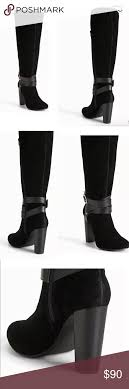s heel boots size 11 plus size black suede heel boots size 11 leather harness