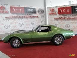 corvette stingray green 1972 elkhart green chevrolet corvette stingray coupe 34242949