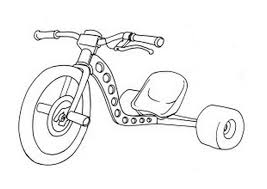 coloring pages drifting cars drift trike coloring page coloring book
