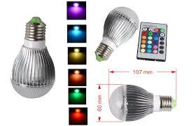 16 color changing rgb led light bulb change lamp gu10 e27 mr16 3 5