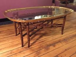Bamboo Table Top by Faux Bamboo Table Ebay