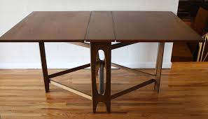foldaway dining table sophisticated folding dining table danish 2 picked vintage