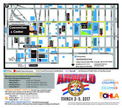 Ohio State Parking Map by Parking U0026 Transportation Arnold Sports Festival Usa