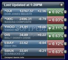 stock ticker yahoo stock ticker