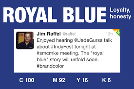 pantone color code the color of the day is royal blue