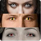 halloween fx contacts sclera lenses crazy colors black out zombie