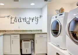 Decorated Laundry Rooms by Laundry Room Decorations For The Wall Laundry Wall Decals Laundry