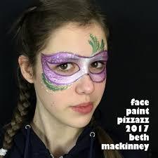 mardi gras skull mask lovely mardi gras mask tutorial facepaint