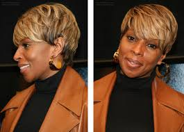 mary j blige u0027s short haircut that makes you look thinner and