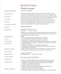 Bartender Resume Example by Bartender Resume 8 Free Sample Example Format Free