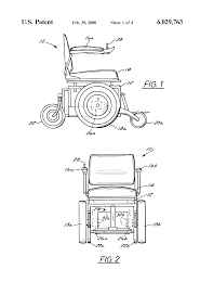 patent us6029763 worm gear assembly for a medical mobility