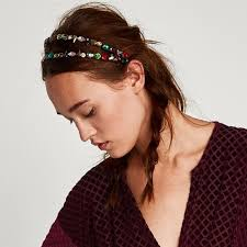 jeweled headbands zara accessories nwt jeweled headband poshmark