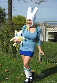 Adventure Halloween Costume Lisa Malanij Costume Diy 001 Adventure Fionna U0026 Cake