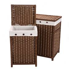 Dark Brown Laundry Hamper by Laundry Room Excellent Wooden Laundry Hamper Ikea Image Of Tilt