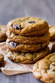 thanksgiving cookies recipes chewy chocolate chip cookies with less sugar sallys baking addiction