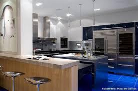 cuisine avec piano central cuisine equipee style provencale 0 cuisine avec piano central