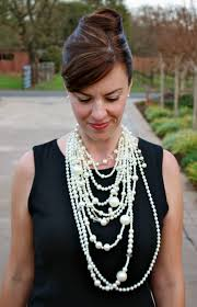 pearls necklace dress images Pearls a modern girl 39 s new best friend wonder wardrobes jpg