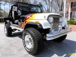 cj8 jeep 1983 black flames jeep cj cj8 scrambler 4x4 27499087 photo 13