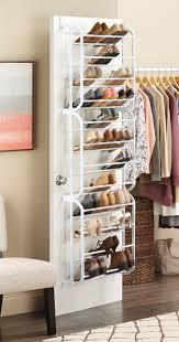 whitmor 36 pair over the door shoe rack walmart com