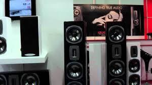 true sound home theater quadral chromium style 100 youtube