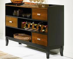 kitchen server with wine rack furniture stores chicago
