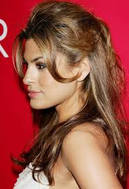 51 best eva mendes long hairstyles images on pinterest long