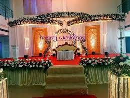 Christian Wedding Car Decorations Christian Wedding Decoration In Trivandrum Wedding Stage At