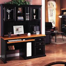 black desk with hutch black office desk with hutch office desk with hutch for computer