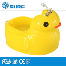 baby shower tub kids spa equipment lovely duck acrylic yellow bath