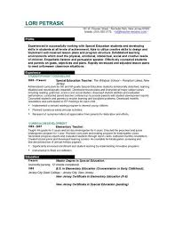Sample Resume For Teacher Assistant by Teachers Resume Template Teacher Resume Sample L