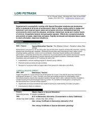 Fresher Teacher Resume Sample Resume Templates For Educators Teacher Resume Template For Ms