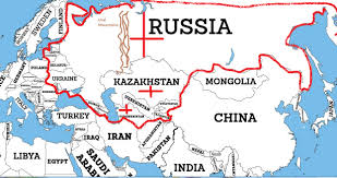 Ussr Map Russia Vs China U2013 Iakovos Alhadeff