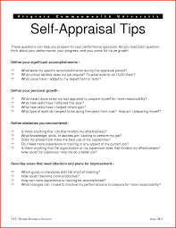 volunteer report template self performance review sle release photos appraisal exles