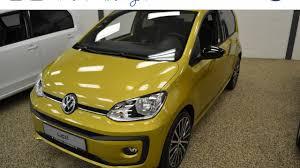 volkswagen up yellow volkswagen up 1 0 bmt high up 60 pk met design pakket u0027savanna