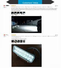 9 Led Light Bar by Tc X 2pcs 9 Inch 54w Led Light Bar Ultra Flood Lights For Truck
