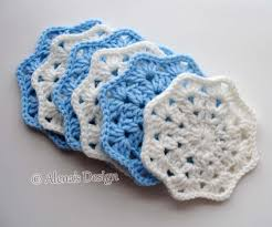 crochet coaster pattern 190 lace octagon coaster diy crochet