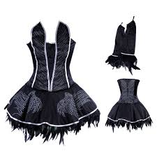 Gothic Ballerina Halloween Costume Aliexpress Buy Black Swan Costume Ballerina