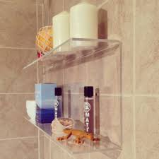 Acrylic Bathroom Shelves by Acrylic Corner Shelf Acrylic Corner Shelf Suppliers And
