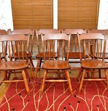 Colonial Style Dining Room Furniture S Bent And Bros Colonial Style Chairs Ebth