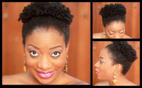 styling 4c natural hair the pinapple fro youtube