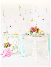easter tea party filled easter tea party inspiration cake confetti
