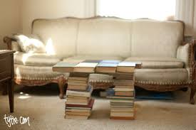coffee table made out of books coffee tables