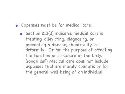 part i section 213 medical dental etc expenses rev employer benefit plans fsa hra hsa
