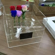 acrylic flower box acrylic gift box acrylic flower box acrylic